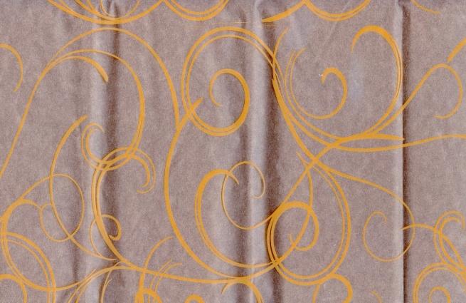 серпантин 0.7 цветочная плёнка - рулон 0.7 серпантин - оранжевый 13737