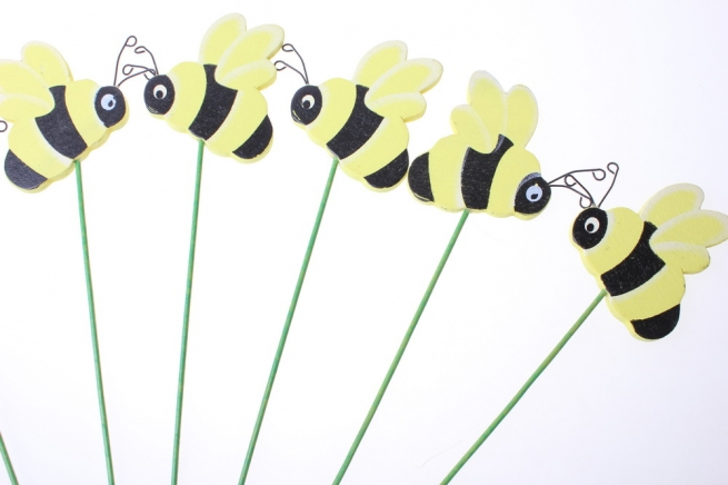 вставки декоративная вставка флористическая - 2684 вставка пчела (24 шт.в уп.) 28992595