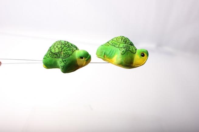 вставки декоративная вставка флористическая - 6292 вставка черепаха (12 шт) 2481