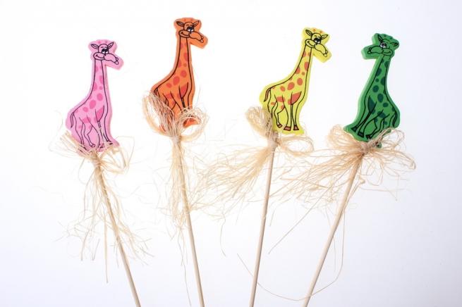 вставки декоративная вставка флористическая - 9142 вставка жираф (12шт. в уп.) 28992598