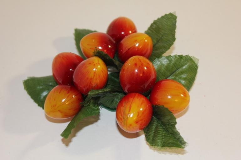 искусственные фрукты декоративные искусственные фрукты - лесной орех 992