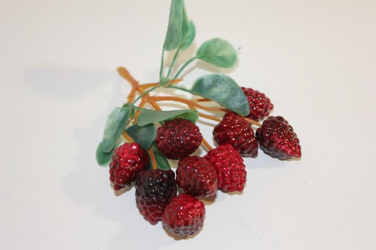 искусственные фрукты декоративные искусственные фрукты - малина 992