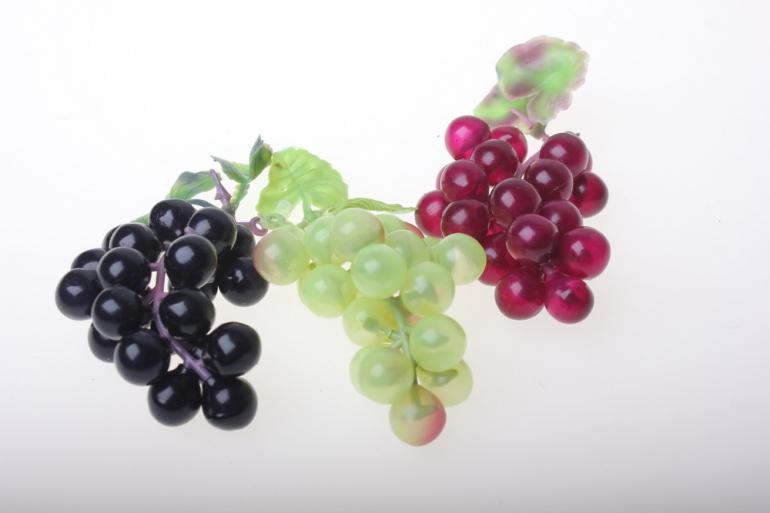 искусственные фрукты декоративные искусственные фрукты - виноград малый 982