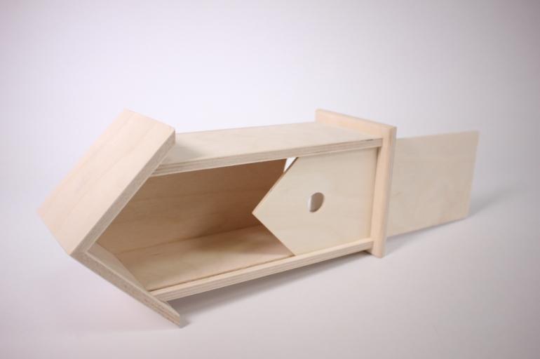 """деревянная заготовка - чайный домик """"скворечник"""" 11х10см h=26см"""