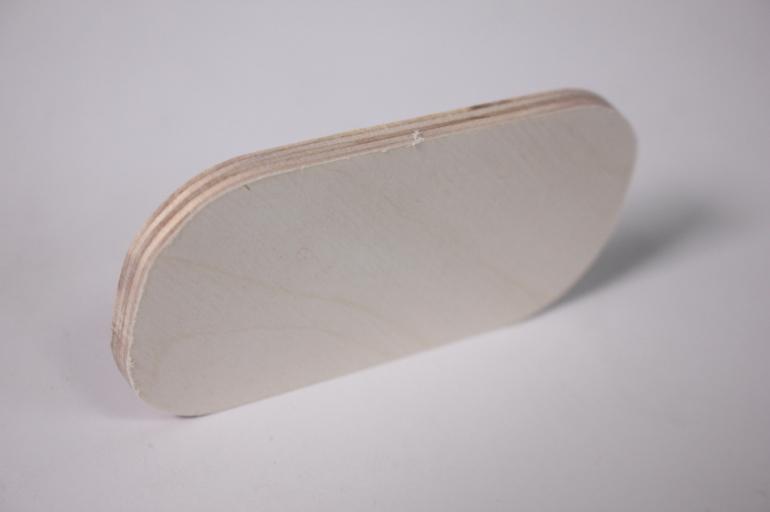 деревянная заготовка - накладка прямоугольник 10*5