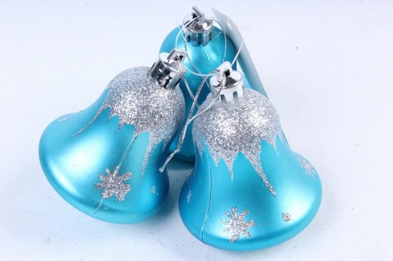 Ёлочное украшение набор (3шт) цвет: голубой DN-21732 (И)