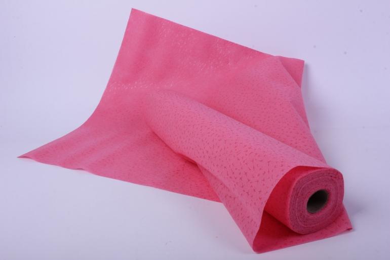 "фетр выбитый ""звёзды"" розовый 50 см * 10 м (н)"