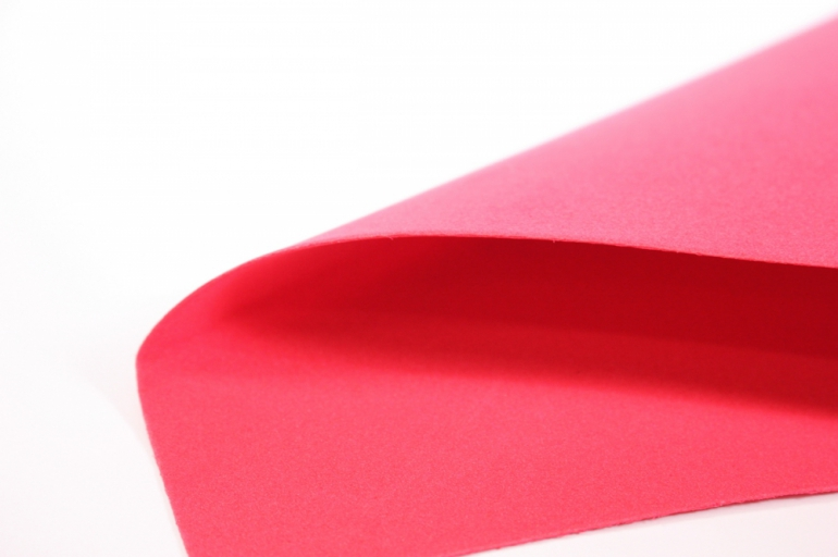 фоамиран - набор 5 листов, 30*35см, цвет 012 (красный)
