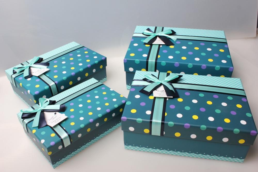 Оформление подарочных коробок в картинках