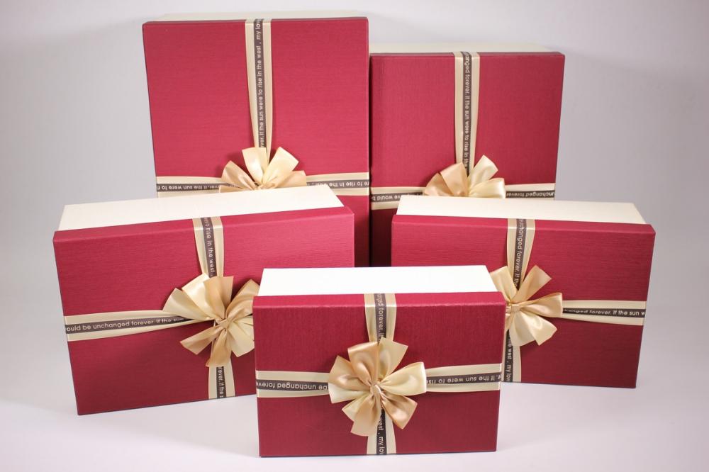 Открытки, открытка коробочка с бантиком