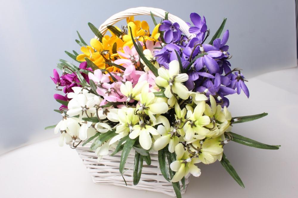 Картинки с букетами цветов подснежников