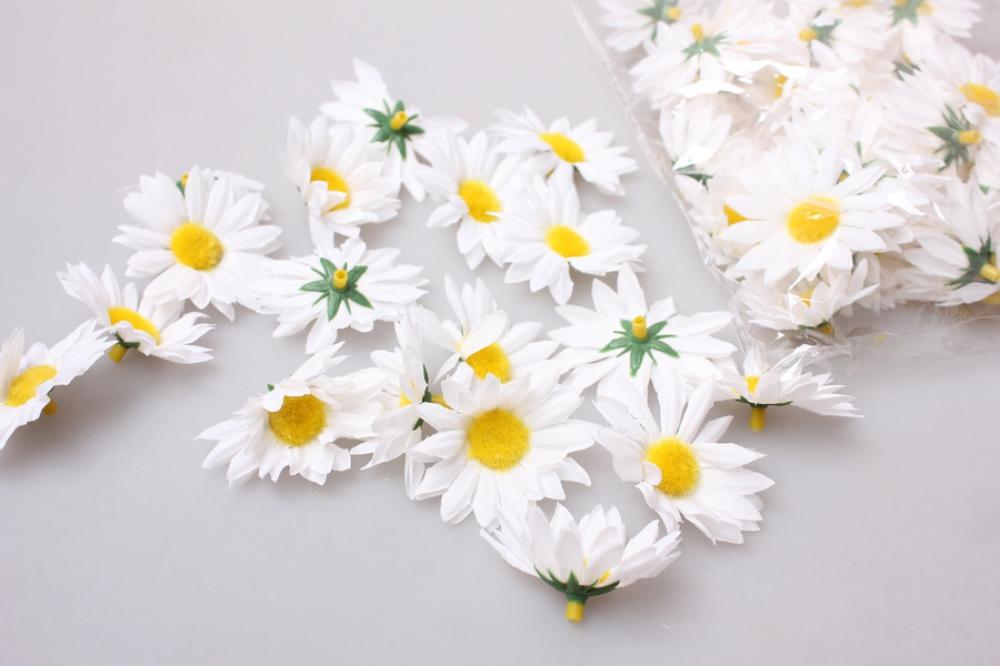 Купить головки ромашки цветы оптом киев