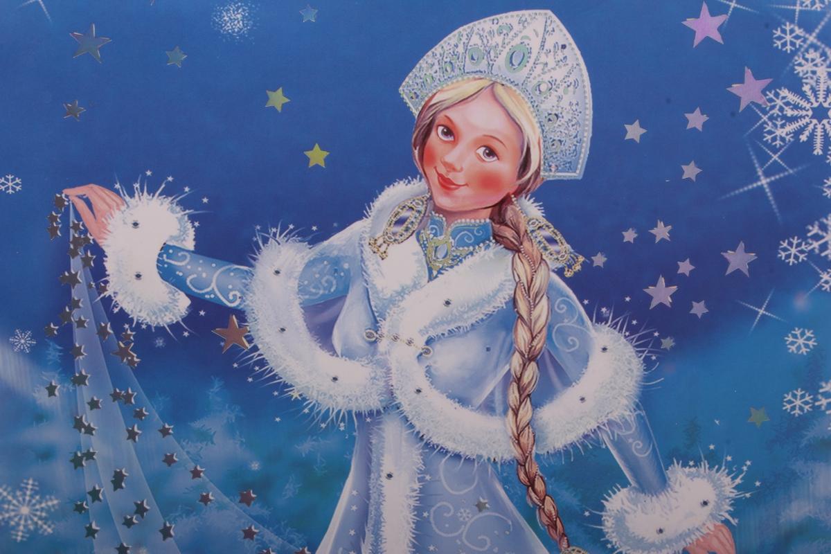 всего красивые новогодние картинки снегурочки воде дождя эффект