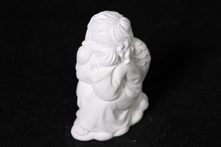 гипсовая фигурка ангел (11*9см)   1шт в уп   арт. п-12