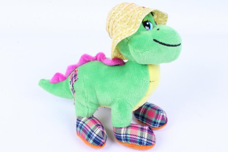 игрушка мягкая дракон зеленый