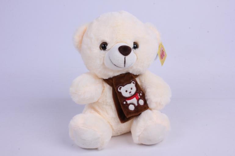 игрушка мягкая - медведь с сердцем м-3026/21 h=23cm