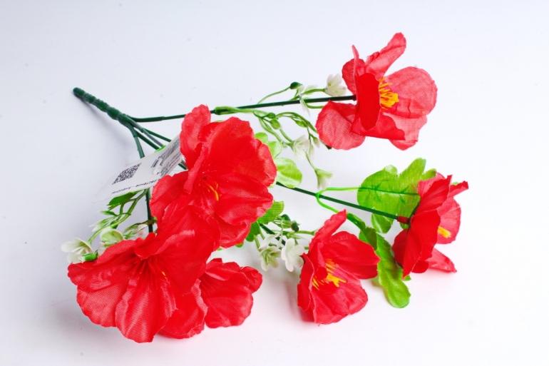 Искусственное растение - Анемоны красные
