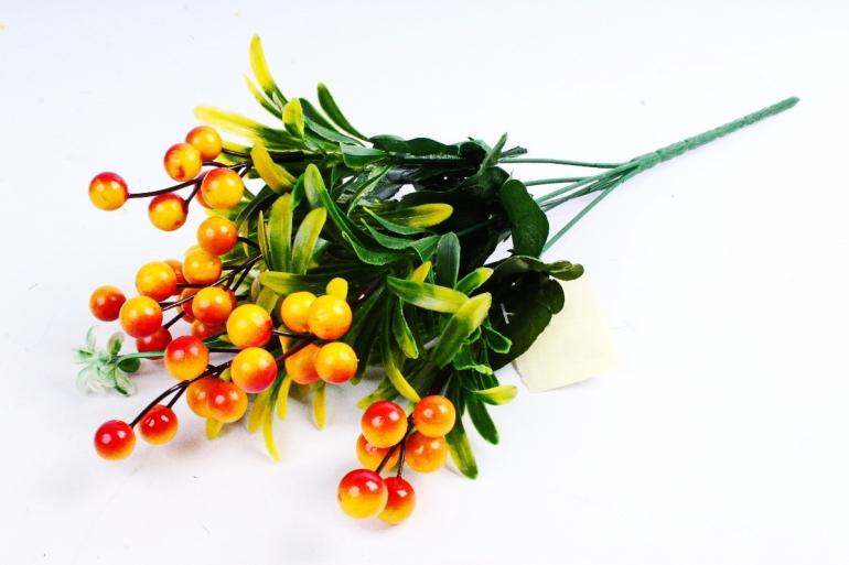 Искусственное растение - Калина жёлтая