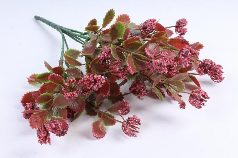 Искусственное растение - Листики декоративные брусничный