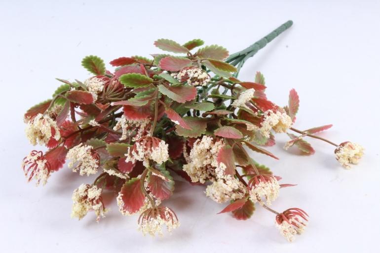 Искусственное растение - Листики декоративные шампань