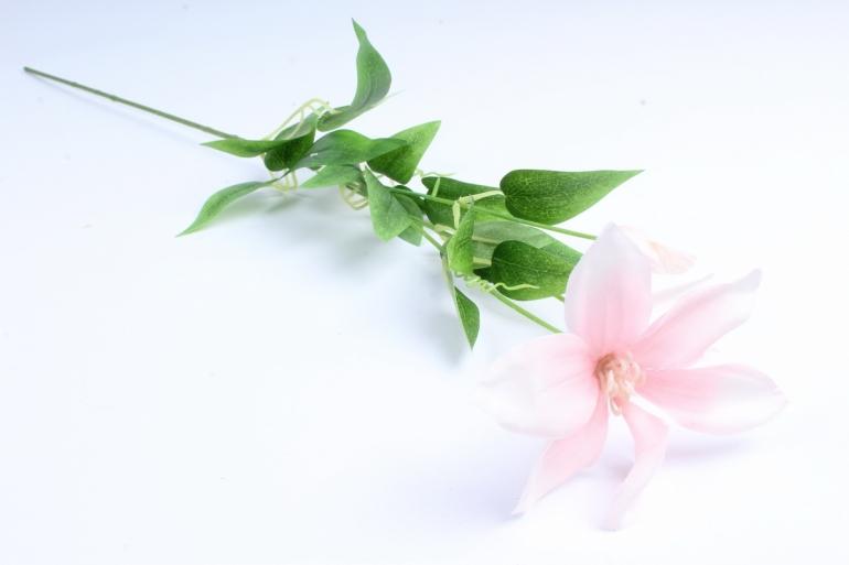 Искусственное растение - Магнолия ветка розовая  Тцк