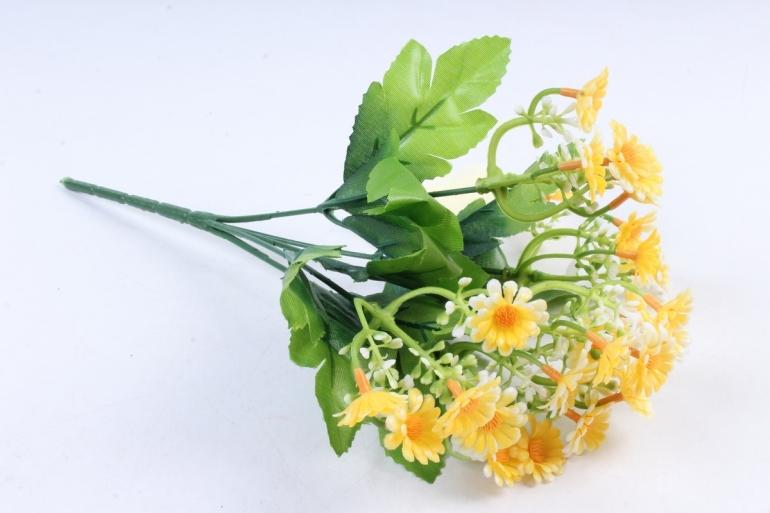 Искусственное растение - Пиретрум жёлтый