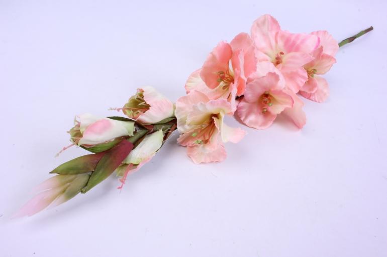 искусственное растение - гладиолус 85 см персик sun367