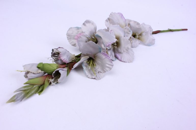 искусственное растение - гладиолус 85 см серый sun367