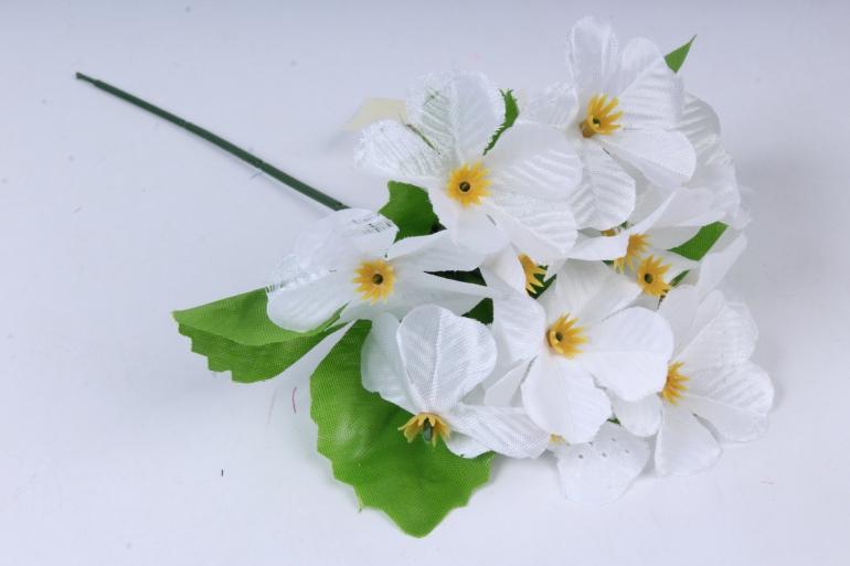 искусственное растение - гортензия 20 см белая