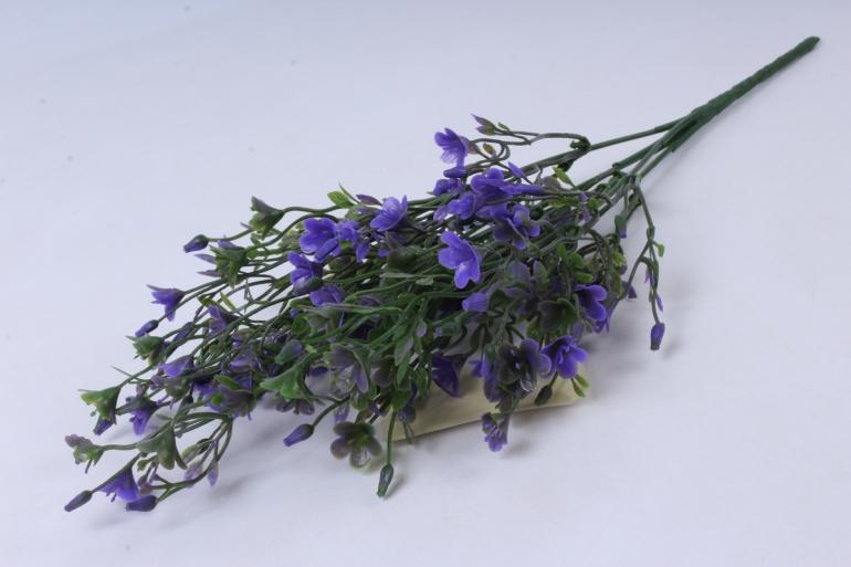 искусственное растение - ленок фиолетовый h=35cm