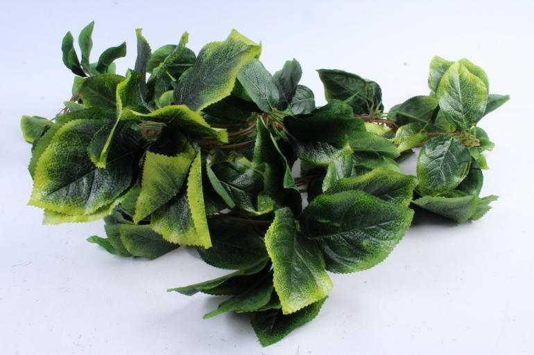Искусственное растение -  Лиана Ореха зелёно-жёлтого Н=280см (5 шт в уп)