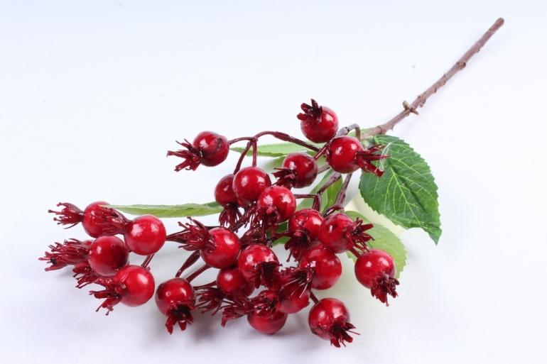 Искусственное растение -  Шиповник майский красный В10181