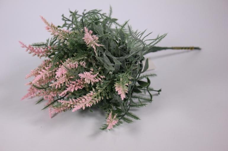 искусственные растения - 3328 ветки розовые 21см (5шт в уп)