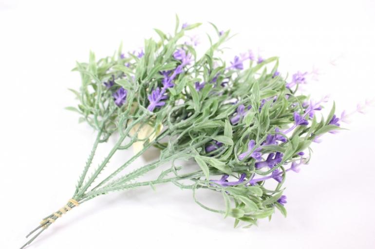 искусственные растения - 5942 лаванда малая 15см (6шт в уп)