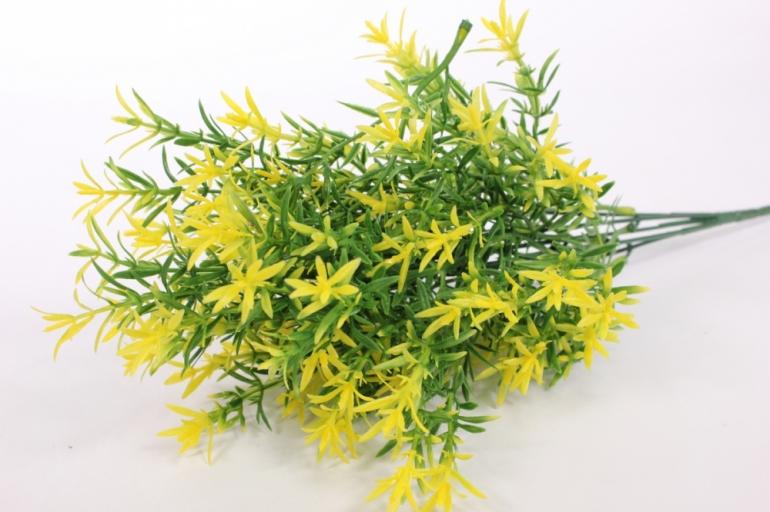 Искусственные растения - Иглица Жёлтая 1шт. 6262 L=40см