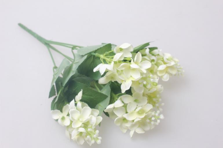 искусственные растения - левкой белый 30см   ga73