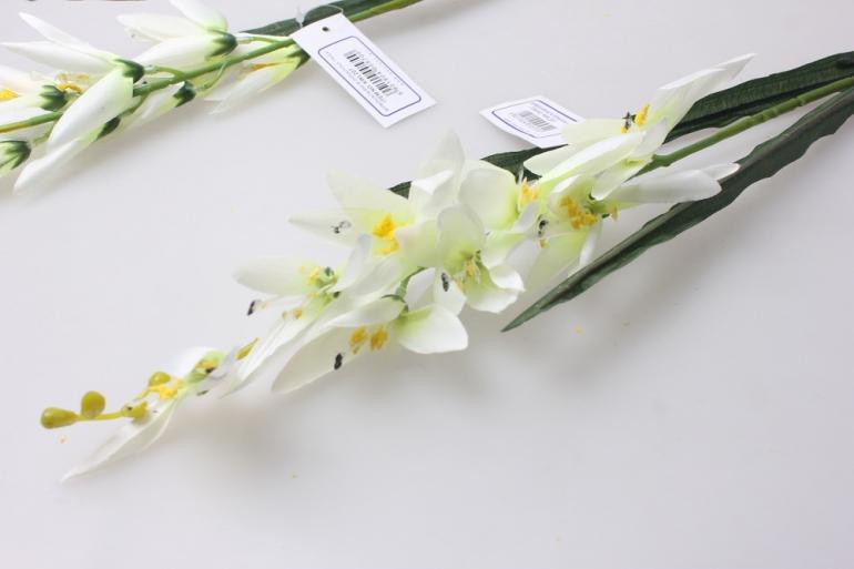 искусственные растения - стрелиция белая  60см  kwl207