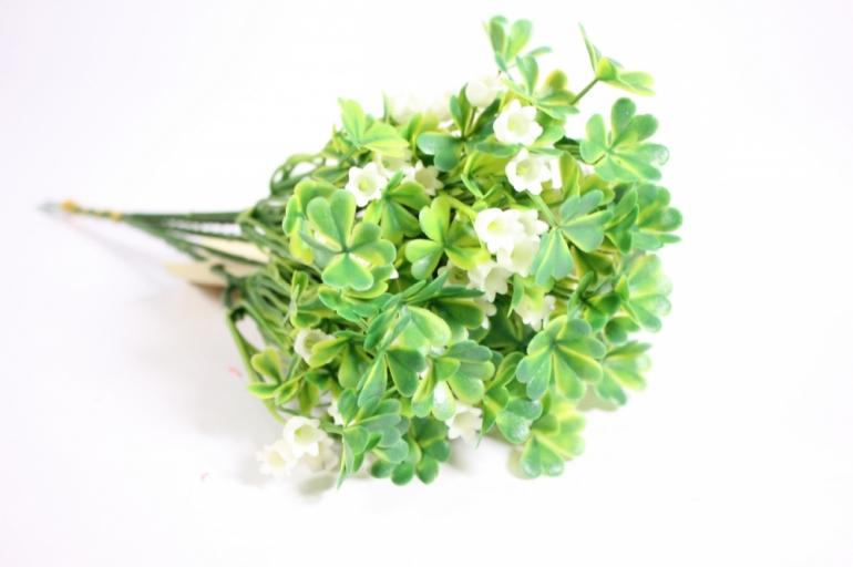 искусственные растения - ветка кислица 21 см (6шт в уп) gap192 (код 8517)