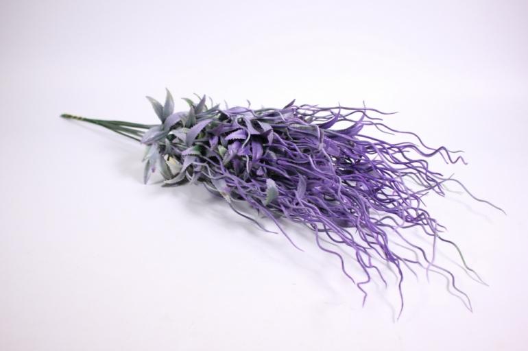 искусственные растения - веточка искусственная 55см (10шт в уп) ava56 (код 9866)