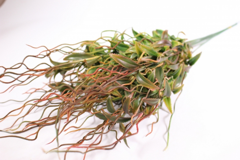 искусственные растения - веточка искусственная терракотовая 55см (10шт в уп) ava55 (код 9859)