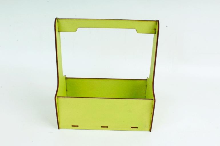 Кашпо-ящик (С) для цветов   Фисташковый