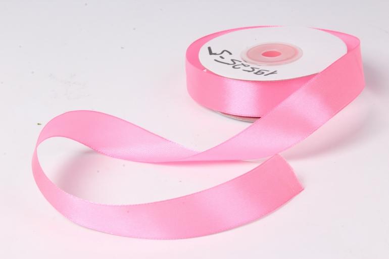 лента атласная 2см*25ярд  розовый (н) к