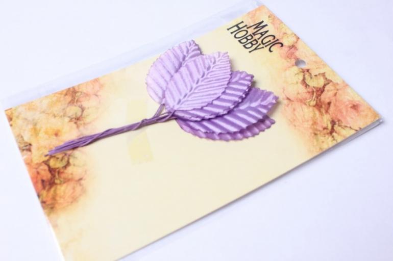 листочки декоративные фиолетовые