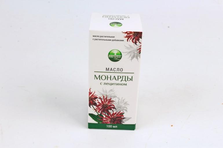 """Масло Монарды с лецитином """"Алфит Плюс"""" растительное с растительными добавками 100 мл"""