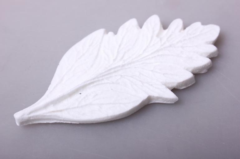 молд 10х5см - лист хризантема,  м  0718