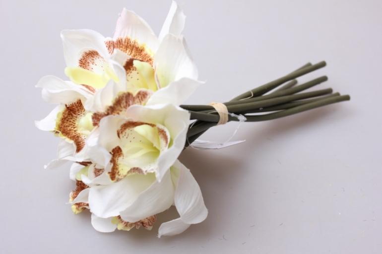 орхидея ваниль1/7шт 21см kwy 464 9390 - искусственные растения