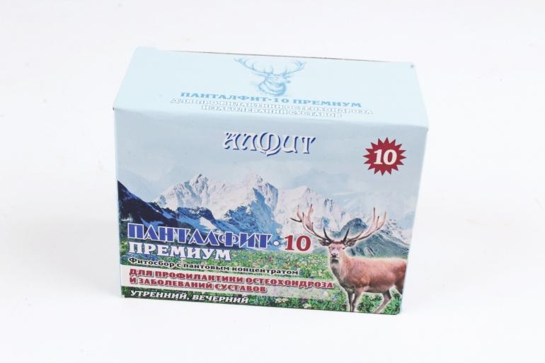 Панталфит-10 Премиум остеохондрозный 120 г