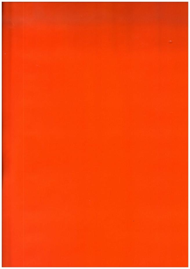 подарочная бумага глянец однотонная оранжевая 0,7*1м в листах (10 листов)