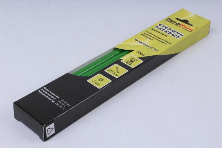 профклей-8781 зелёный 7*200мм, 85 г  (10 шт в уп)
