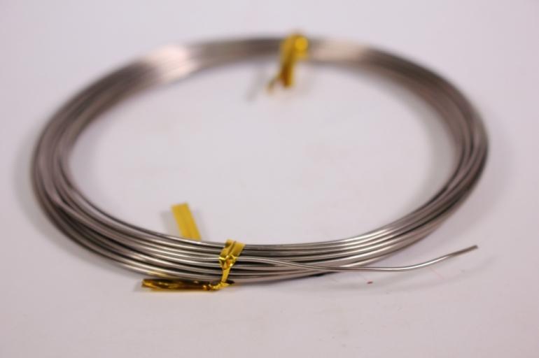 проволока флористическая 0,8 мм*10м серый